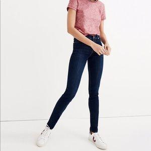 Madewell 9'' High Rise Skinny Jeans Tencel